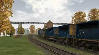 MSTS Railfanning-CSX and Amtrak at Shenandoah Jct WV