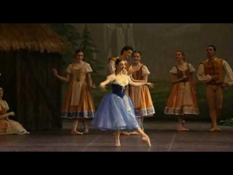 Alessandra Ferri. Giselle. La Scala Ballet (Act1)