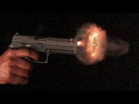 Shooting Guns in Ultra Slow Motion 70,000 FPS  - Sneak Peek - Day 2