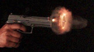 Shooting Guns in Ultra Slow Motion 70,000 FPS  - Sneak Peek - Day 2