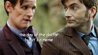the day of the doctor but it