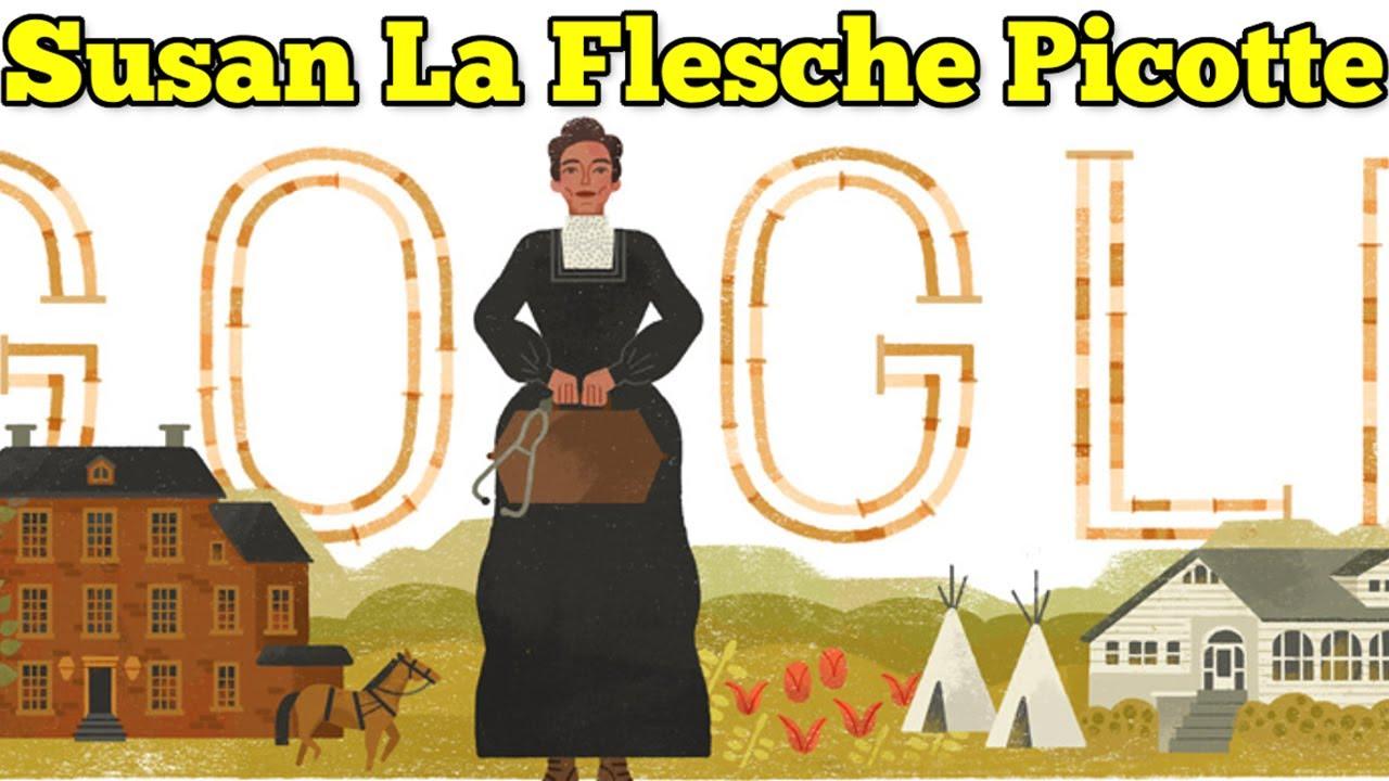 Google honors Susan La Flesche Picotte with doodle