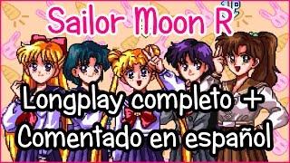 Sailor Moon R | Gameplay Español💎 Longplay completo