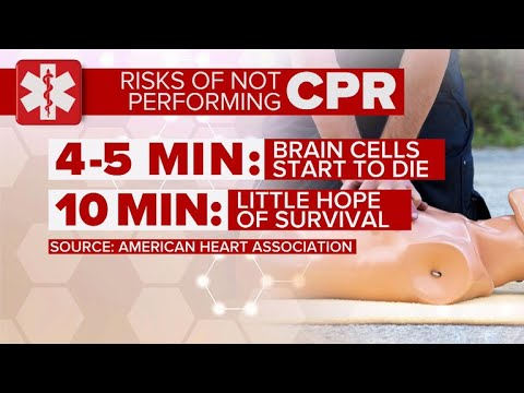How administering hands-only CPR could save a life