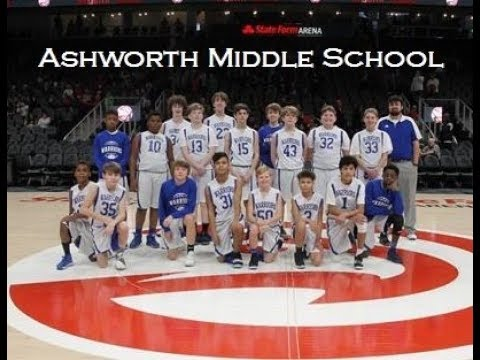Ashworth Middle School Boys Basketball @ State Farm Arena   2019