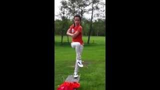 Junior golf wave