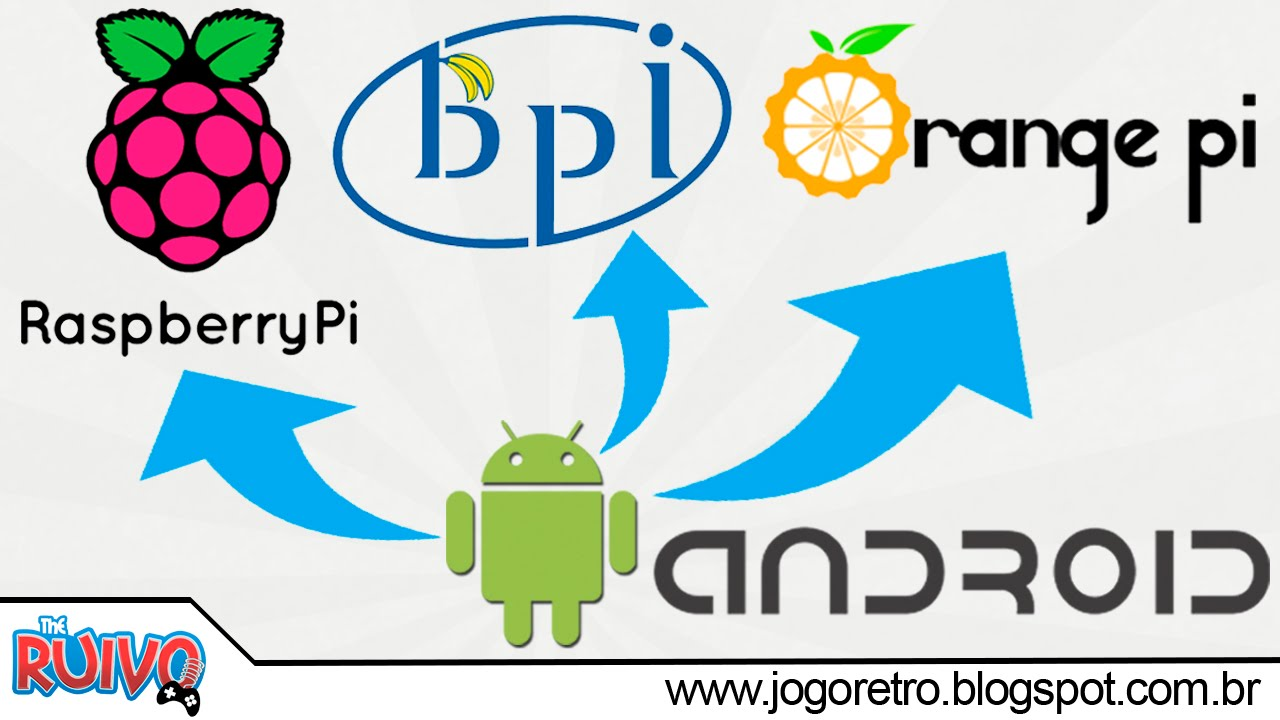 Como Instalar Android Na Raspberry Pi Banana Ou Orange P150k Sesi1122 Todas As Verses Tutorial Completo Youtube