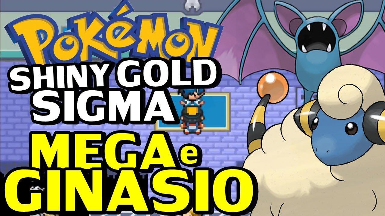 Pokemon Shiny Gold Sigma Detonado Parte 2 Mega Stone Novos Pokemon E Ginasio