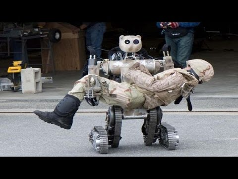 US Top war battlefield robots military terminator technology full documentary