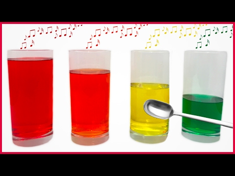 Diy How To Make Colorful Musical Water Xylophone