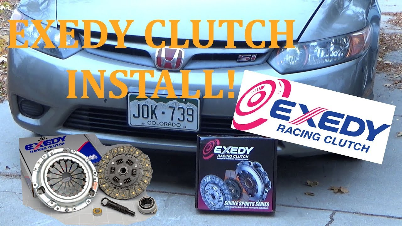 06 11 Civic Si Clutch Replacement