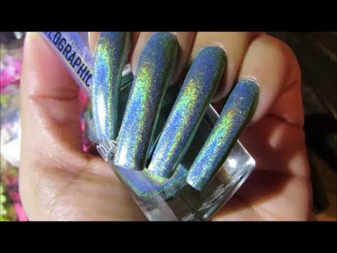 ✨ Holographic Color Club Nail Polish ✨ Swatches Collection - YouTube