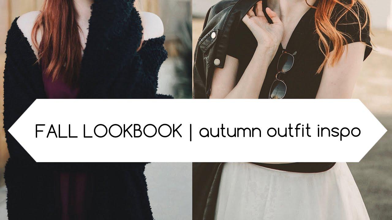 [VIDEO] - FALL LOOKBOOK 2018   autumn outfit inspo 5