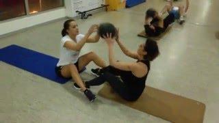 BOOT CAMP SOKO GYM - Februar 2016 - Medicine balls workout