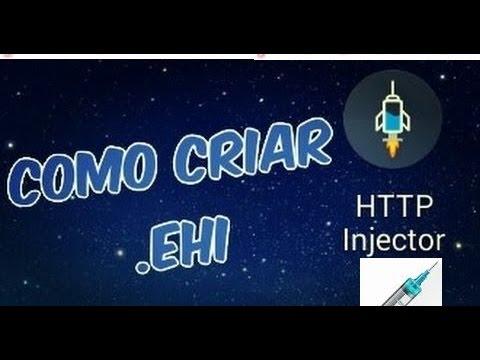 Como fazer um arquivo EHI da claro para o http injector e criar uma conta ssh p