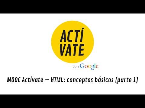 HTML: conceptos básicos (parte 1)