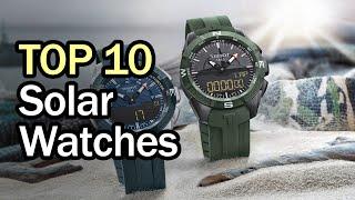 10 Best Solar Powered Watches in 2020