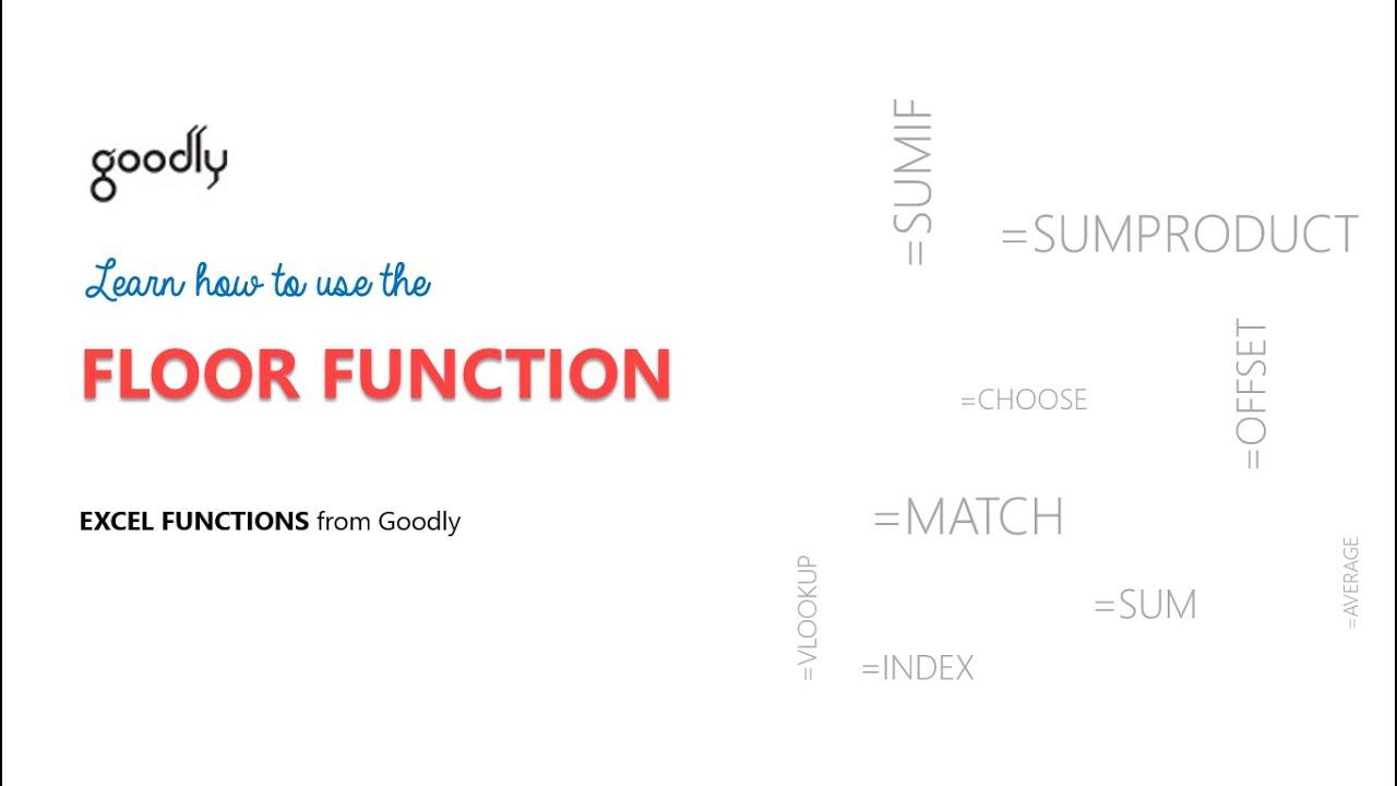 FLOOR Function In Excel