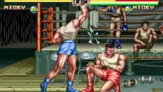 龍虎の拳2 - ミッキー : 3206821pts.