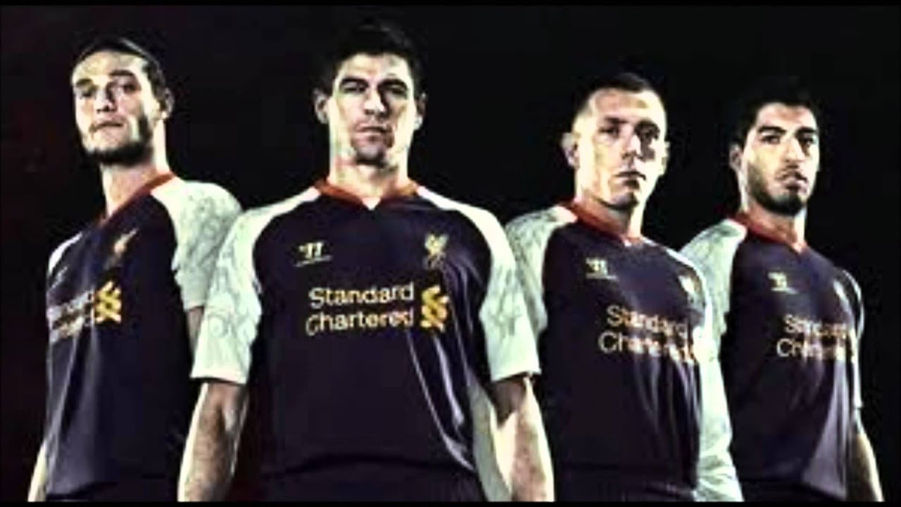76daaff0c Liverpool New Third Kit 2012 13 - YouTube