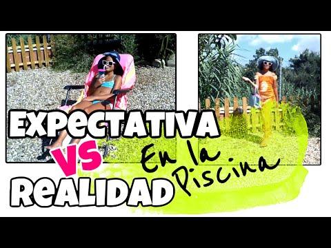 Versus expectativa vs realidad en la piscina con pinkys girls thumbnail