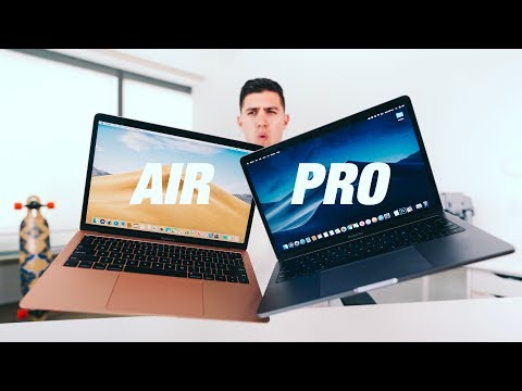 2019 MacBook Air vs MacBook Pro  - Which is the RIGHT LAPTOP?