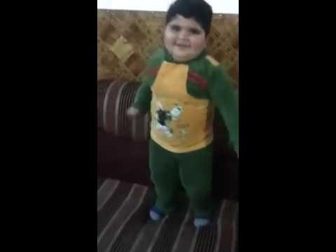Ada bayi umur3 tahun bisa joget orang arab