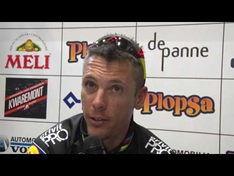 Philippe Gilbert - post-race interview - 1st stage - 3 Daagse De Panne - Koksijde 2017