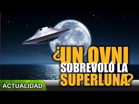 ¿Un OVNI sobrevoló la superluna? (Actualidad)