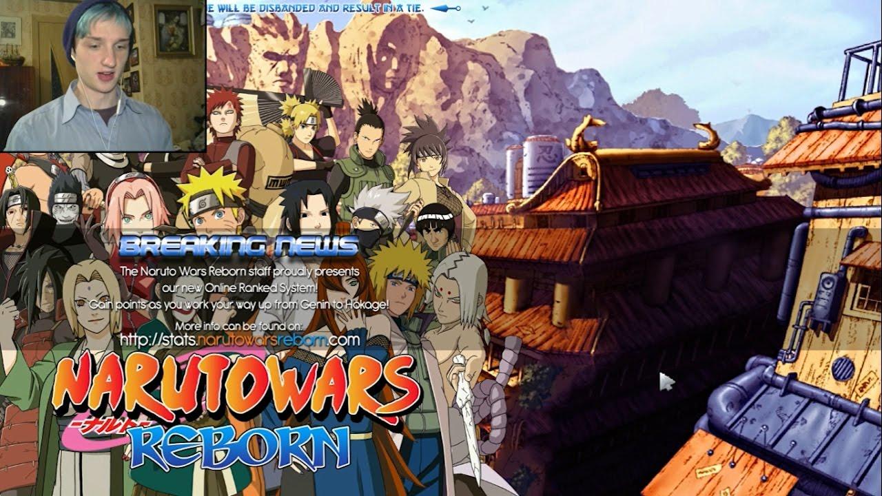 МИГРАЦИЯ НАРУТО В ДОТУ 2 ► Naruto Wars Reborn