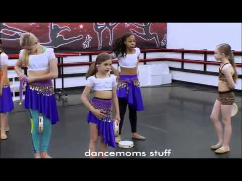 Dance Moms Abby Puls Sarah out of the Group dance