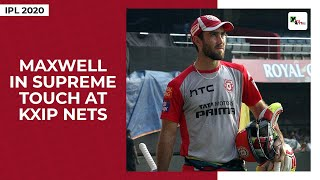 IPL 2020: Glenn Maxwell in supreme touch at KXIP training at Dubai