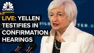 WATCH: Treasury secretary nominee Janet Yellen testifies at Senate confirmation hearings — 1/19/21