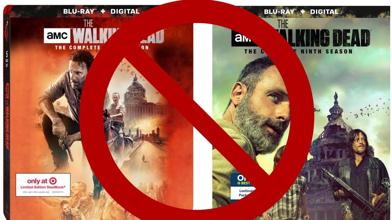No Retailer Exclusives The Walking Dead Season 9 Blu Ray