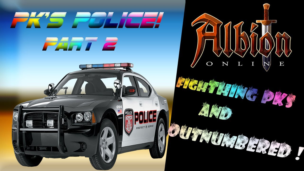 Albion Online Pk Police Outnumbered Fights Youtube