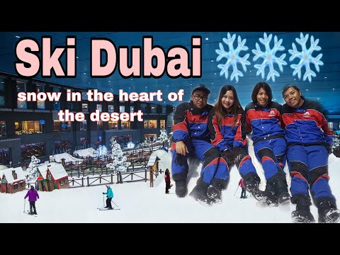 The Best | Ski Dubai Snow Park | Snow Activities | Mall of Emirates | Jam Bausa
