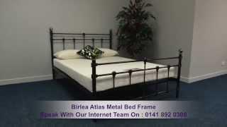 Birlea Atlas Metal Bed Frame