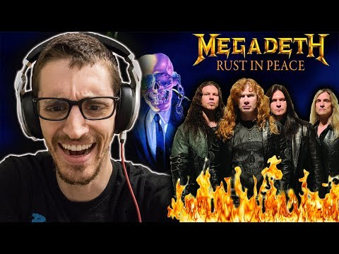 Hip-Hop Head's FIRST TIME Hearing MEGADETH: