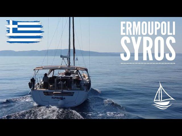 Znów płyniemy! Pierwszy port - Ermoupoli, jak tam cumować? / Odc.45