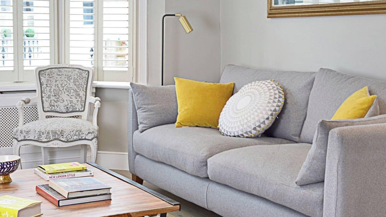 Stunning Furniture Mesmerizing Yellow Gray Living Room Furniture 43