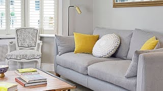 24 Grey And Yellow Living Room Ideas