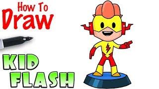 How to Draw Kid Flash | Teeny Titans