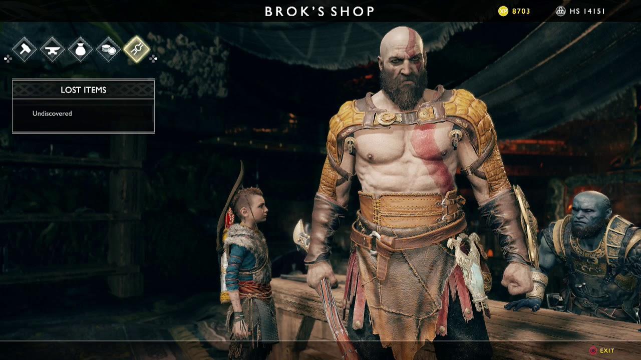 God Of War Atreus Armor Craft List After Alfheim