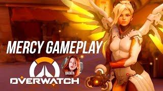 OVERWATCH: Gameplay e dicas de MERCY!  Parte 2.