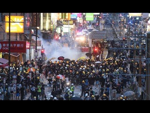 《石涛聚焦》「光复元朗 28.8万人参加违法逛街」BBC:元朗今夜无事?申请者锺健平强烈谴责港警「只听北京-中共指令」出卖港人 形同公安 入夜後绝大多数人平安返家