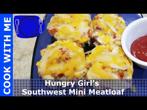 COOK WITH ME Mini Meat Loaf Hungry Girl Recipe