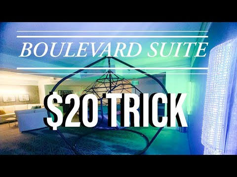 $20 DOLLAR TRICK WORKED! Boulevard Suite At Planet Hollywood In Las Vegas