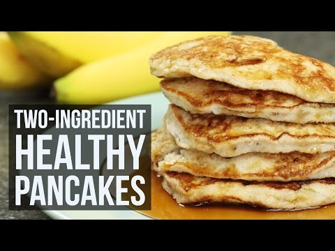 two-ingredient-healthy-pancakes-|-easy-breakfast-recipe-by-forkly