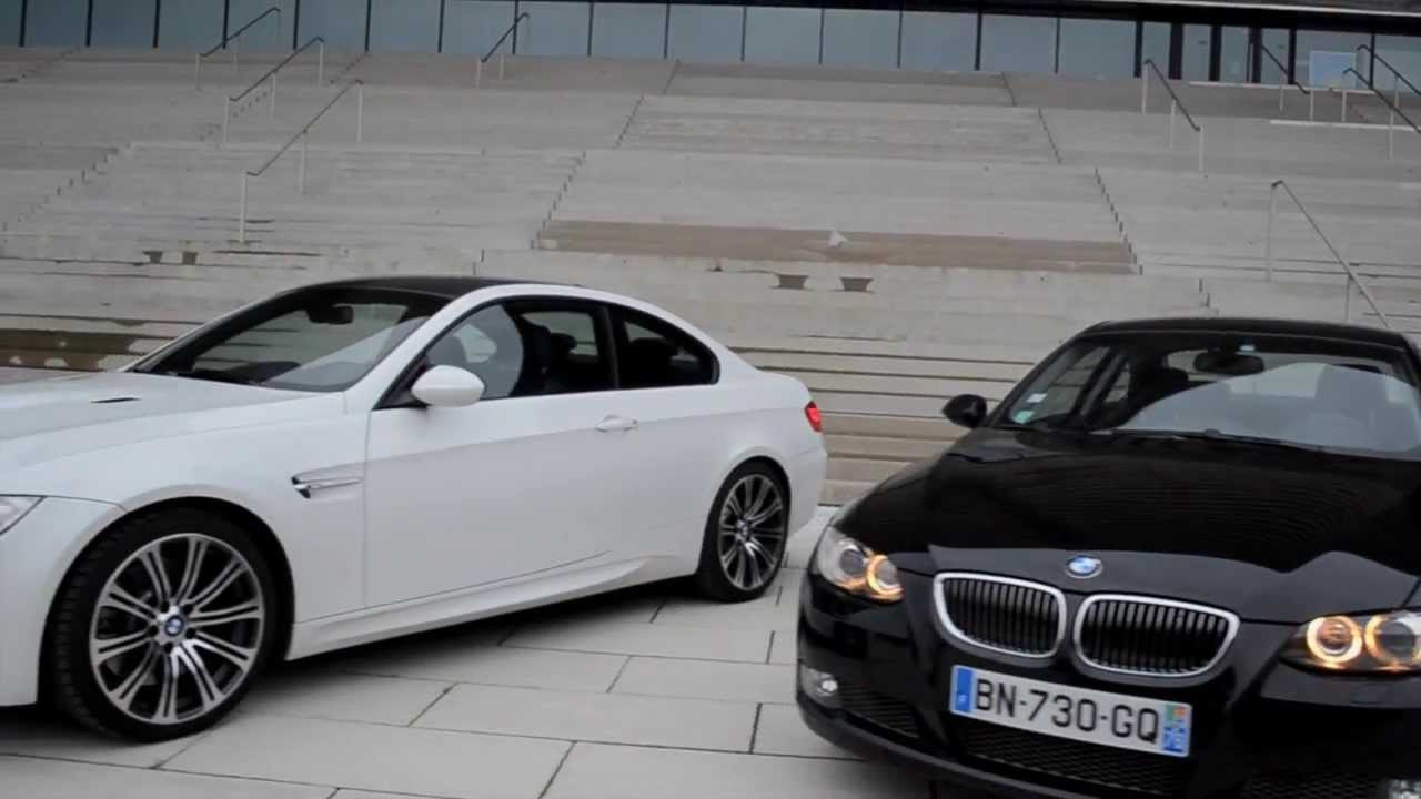 Bmw M3 E92 335d Acceleration Speed Style Youtube