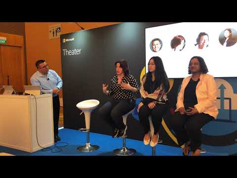 Diversity and Tech Panel at Microsoft Tech Summit Singapore